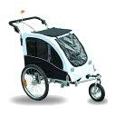 サイクルトレーラー 自転車用ペットカート ペットキャリー 犬や動物 Aosom Elite II Pet Dog Bike Bicycle ...