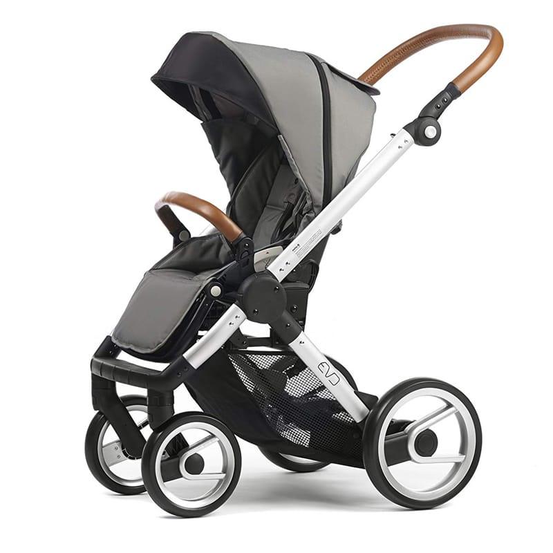 ベビーカー, ベビーカー本体  Mutsy Evo Urban Nomad Stroller, Silver Chassis, Light Grey