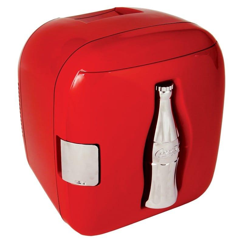 コカコーラ ボトルデザイン キューブクーラー ミニ冷蔵庫 最大11缶 Koolatron Compact Refrigerator CCU09 家電