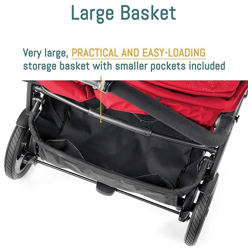 ベビーカー 双子用 イタリア ペグ・ペレーゴ バギー ストローラー 2人用 Peg Perego Book for Two Baby Stroller
