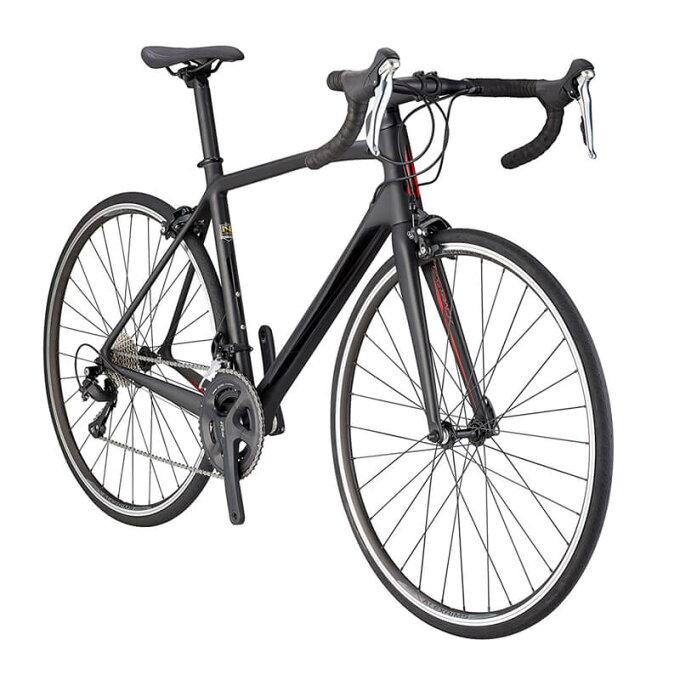 ロードバイク シュウイン カーボンフレーム Shimano シマノ 105 Schwinn Fastback Carbon 700C Performance Road Bike, 51cm/Medium Frame, Matte Black