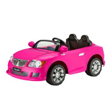 乗用玩具 子供用 電動自動車 ピンク コンバーチブル オープンカー 乗り物 電気 12V Kid Trax Pink Convertible KT1246