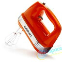 【送料無料】クイジナート ハンドミキサー 7段階切替 オレンジ Cuisinart Power Advantage 7-S...