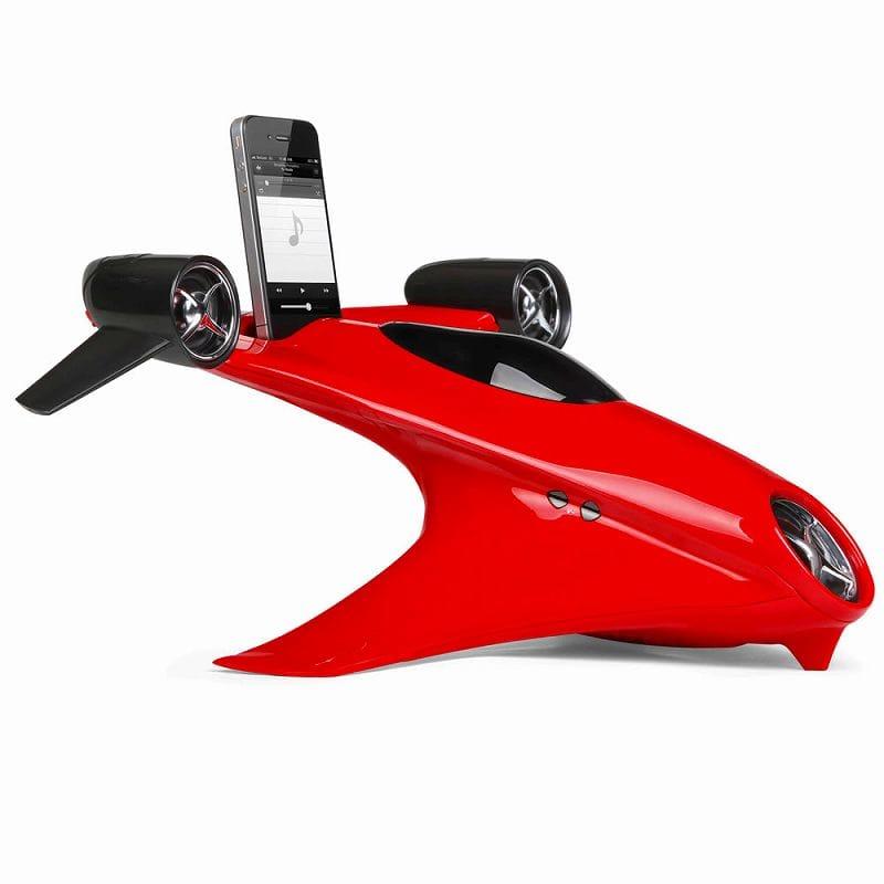 iphone用スピーカー ジェスチャーで再生やボリューム変更機能付