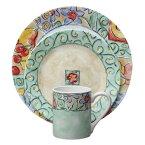 コレール インプレッション ディナーセット ウォーターカラー 16点セットCorelle 16-Piece Impressions Dinner Water Color Set
