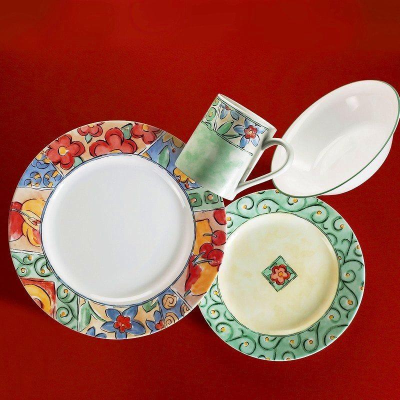コレール インプレッション ディナーセット ウォーターカラー 16点セット Corelle 16-Piece Impressions Dinner Water Color Set