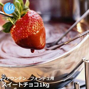 チョコレートファウンテン チョコレート ジョエル スイートチョコレート
