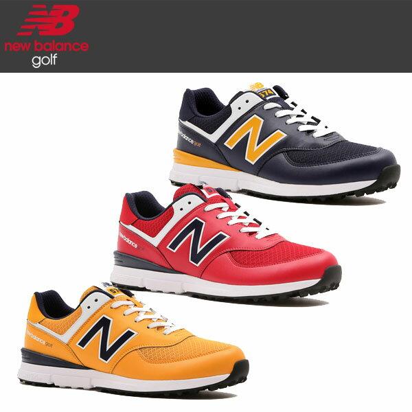 ニューバランスゴルフ574メンズゴルフシューズスパイクレスUGS574(NY/RN/YN)/日本正規品2020年モデル/NewB