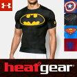 アンダーアーマー ヒートギア コンプレッション 半袖 T シャツ オルターエゴ 1244399 バットマン / スーパーマン / スパイダーマン