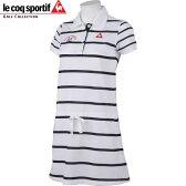 ルコック スポルティフ レディースゴルフ 半袖 ワンピース QGL2617 カラー:N942ホワイト le coq sportif GOLF 16sscz