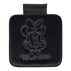 【Disneyミニー】●クッション(ヒップ型/ブラック)★ミニープレスベロア★★カー用品★[649602]【DisneyZone】