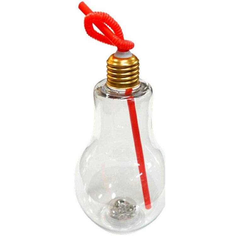 おもしろ雑貨 光る!電球ペットボトル