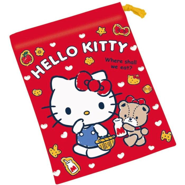 ハローキティ KB62 コップ袋(クッキー)