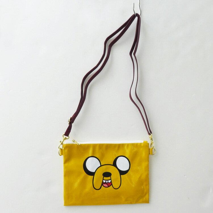 產品詳細資料,日本Yahoo代標|日本代購|日本批發-ibuy99|包包、服飾|包|女士包|單肩包/斜挎包|送料無料 アドベンチャータイム ミニショルダー(ジェイク) [213511]