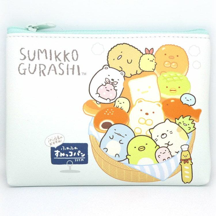 產品詳細資料,日本Yahoo代標|日本代購|日本批發-ibuy99|包包、服飾|包|女士包|すみっコぐらし フリーポーチ/M(パン) [509231]