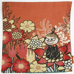 【ムーミン】●クッションカバー(リトルミイ/花と一緒に)[543155]