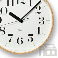 【ポイント10倍!】【今ならQUOカード500円分プレゼント!】【クロックフック付き!】Lemnos Riki Clock レムノス リキ クロック RC WR08-27 WH 電波時計 [掛け時計/かけ時計]