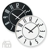 【OFFクーポンあり!】【ポイント最大16倍!】Lemnos eki clock レムノス エキクロック TIL16-01 掛時計/掛け時計/かけ時計/壁掛け/北欧/おしゃれ/デザイン時計/インテリア時計