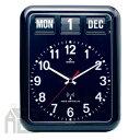 【ポイント10倍!】&【送料無料】!【ポイント10倍!】TWEMCO RC-12A BLACK トゥエンコ カレンダー時計 [置き時計/おき時計]