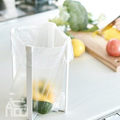 Yamazaki Tower ポリ袋エコホルダー L タワー eco Holder キッチン雑貨/ゴミ袋/IM/収納/ペットボトル乾燥