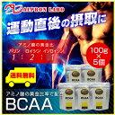【送料無料】BCAA 100g×5個