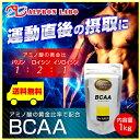 【送料無料】【超お徳用】【代引き・日時指定不可】BCAA 1kg