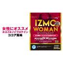 アルプロン IZMO WOMAN プロテイン ホエイプロテイン ソイプロテイン サプリメント ココア 300g 生きた乳酸菌 BC-30配合 筋肉 筋トレ 女性 トレーニング ダイエット