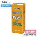 【エルビー】濃縮還元オレンジ果汁100%ジュース 200ml x 24本 【3ケース以上送料無料】【別途送料地域あり】【RCP】