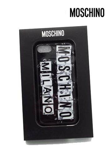 【セール】【上代¥12,000の80%OFF】【ネコポス】【正規取扱い】【あす楽】MOSCHINO【モスキーノ】iPhone7plus/8plus用対応 アイフォン ロゴ安全ピン SAFETY PIN スマホ ケース カバー スマートフォンケース/ブラック