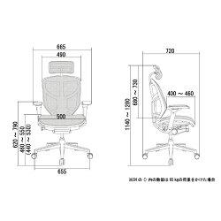 オフィスチェア「エルゴヒューマンエンジョイ」ハイ・3DグリーンEJ-HAMKMD-34GRN