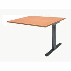 Garage ミーティングテーブル fantoni 連結用 GT-149H-Z 幅140cm 奥行き90cm 木目 【代引不可】:ドラッグスーパー alude