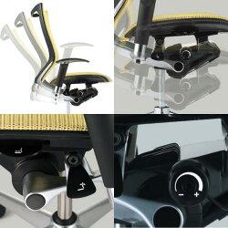 オカムラチェアBaron(バロン)ホワイトボディエクストラハイバック可動ヘッドレストポリッシュフレームメッシュ座デザイン肘