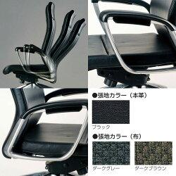 生興エグゼクティブ用チェアーSMIシリーズハイバック布張りSMI-H8