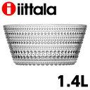 iittala イッタラ Kastehelmi カステヘルミ ボウル 1.4L クリア お皿 皿『送料無料(一部地域除く)』