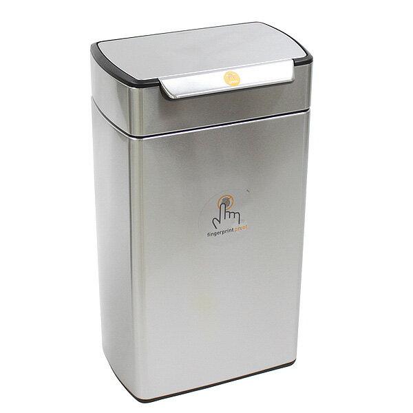 シンプルヒューマン CW2014 レクタンギュラー タッチバーカン ゴミ箱 40L SIMPLEHUMAN【12月7日まで期間限定価格】