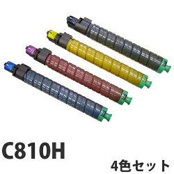 RICOHC810Hリサイクルトナーカートリッジ4色セット