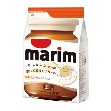 AGF マリーム 植物性 詰替用 250g