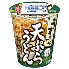 鰹だしにすっきり醤油の液体つゆ付きの風味豊かな天ぷらうどん。 【毎日全品ポイント5倍】マル...