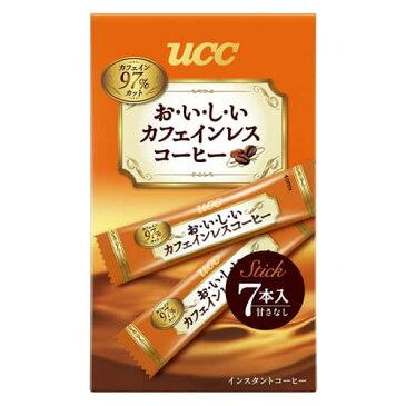 UCC おいしいカフェインレスコーヒースティック 7P