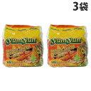 YumYum インスタントヌードル トムヤムシュリンプクリーム味 5P×3袋