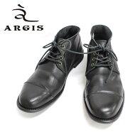 ARGISアルジス12103(BLACK:ブラック)本革革靴メンズレザーシューズチャッカブーツ黒色=送料無料=【日本製】【RCP】10P30Nov13