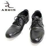 ■■ ARGIS アルジス 91102 (BLACK:ブラック:黒)本革 革靴 黒色 メンズ カジュアル レザーシューズ 【送料無料 日本製】