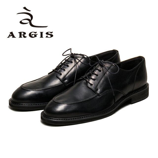 メンズ靴, ビジネスシューズ ARGIS 91114 U 5 BLACK Made in JAPAN