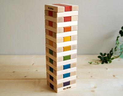 パーティーゲームや家族団欒のひと時に♪ブロックや積み木、インテリアにもなる木製JENGA♪クリ...