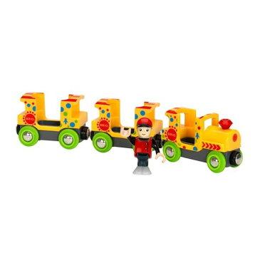 BRIO (ブリオ) ファンパークトレイン 木製レールおもちゃ 幼児・小学生 33741 クリスマスプレゼント