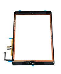 【iPadAir】フロントパネルデジタイザホワイト【アイパッドエアー修理交換用部品】【タッチパネル+前面ガラス+ホームボタン】