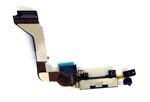 【iPhone4】ドックコネクターブラック充電口修理交換用パーツ【スマホ交換用部品】