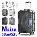 【最大2000円OFFクーポン&ポイント10倍 12/7(木)1:59まで】スーツケース 58cm グリップマスター搭載中型 Mサイズ キャリーケースsiffler シフレ 1年保証付 ESCAPE'S B5225T
