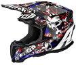 SALE Airoh アイロー Twist Punk Helmet 2016モデル オフロード モトクロス ヘルメット アウトレット イタリアブランド 【黒白赤】【AMACLUB】