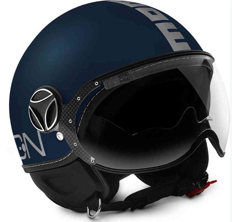 バイク用品, ヘルメット 65MOMO DESIGN FGTR EVO Jet BlueSilver